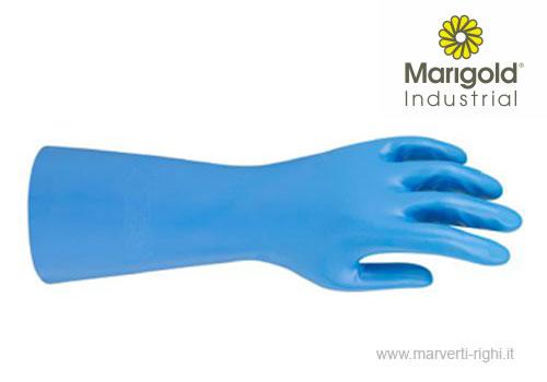 guanto in nitrile blu-marigold G25B
