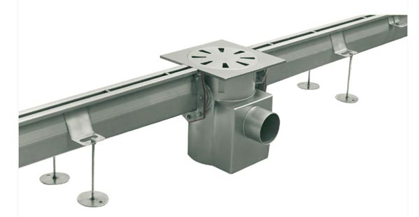 CAT03 - Canalina in acciaio inox