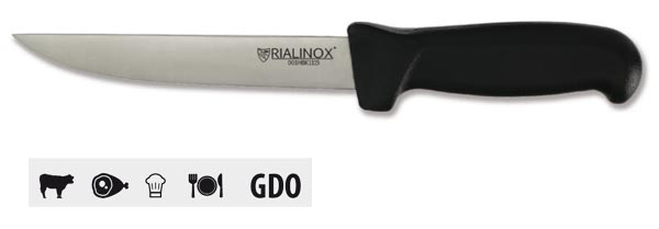 CAT01 - Coltello RIALINOX FOOD - Modello DISOSSARE tipo stretto