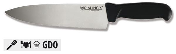 CAT01 - Coltello RIALINOX FOOD - Modello CUCINA tipo punta centrale