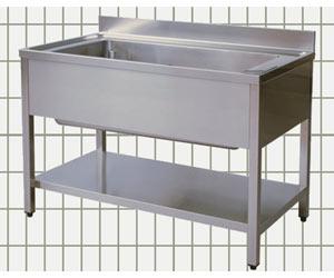 Lavatoio aperto - 1 vasca - sgocciolatoio