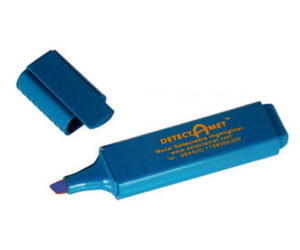 Evidenziatore detect - colore blu