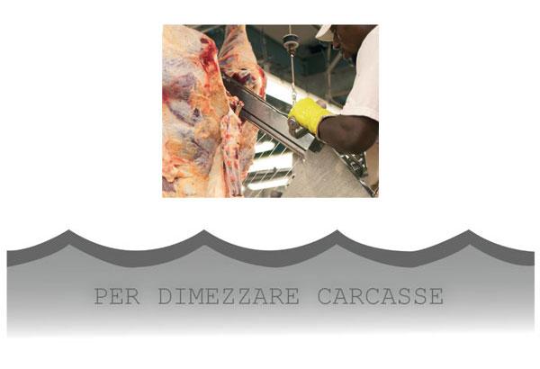CAT01 - Lame per dimezzare carcasse