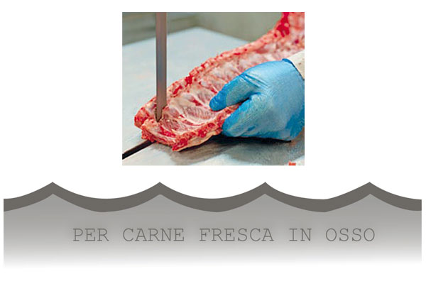 CAT01 - Lame per carne fresca in osso