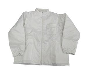 Giacca colore bianco trapuntata
