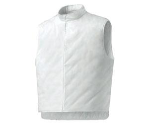 Gilet colore bianco senza maniche - Modello MR
